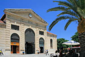 The central market of Chania